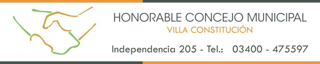 Honorable Concejo Municipal pagina web 1